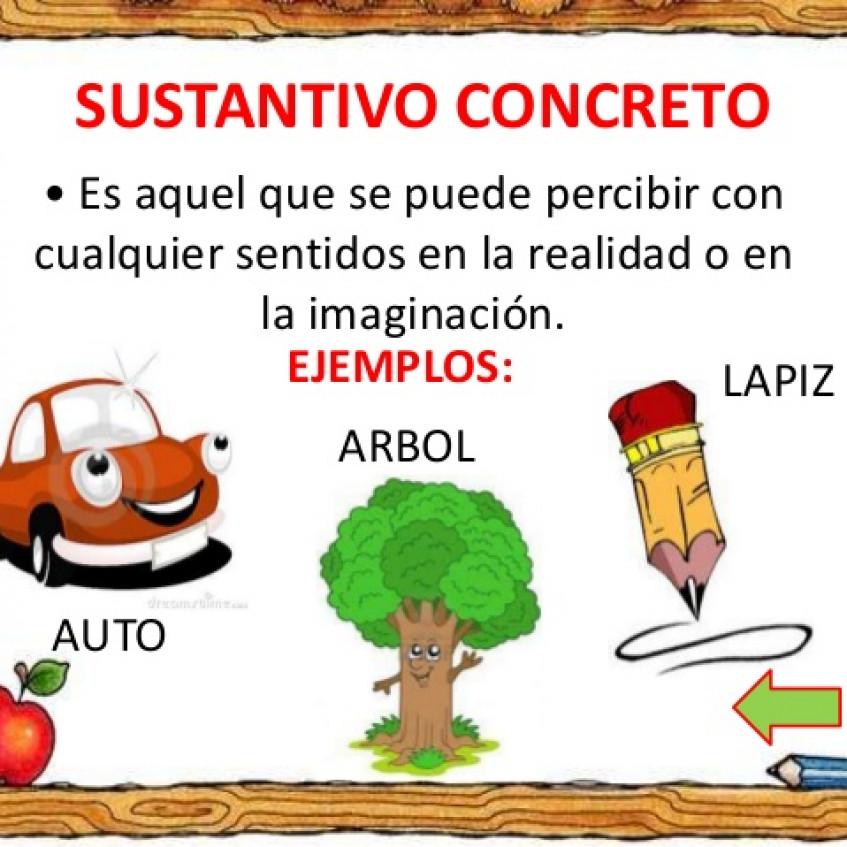 Ejemplos De Sustantivo Concreto Y Abstracto Colección De Ejemplo